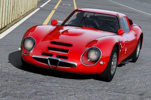 1965 Alfa Romeo Giulia TZ2 [Add-On | Extras | Template]