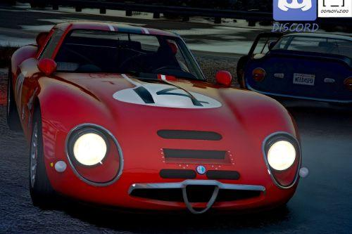 1965 Alfa Romeo Giulia TZ2 [Add-On | Extras | Template]