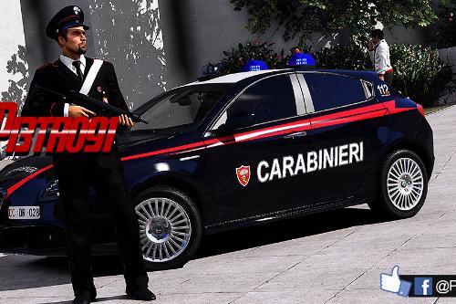 Alfa Romeo Giulietta - Carabinieri [ELS]