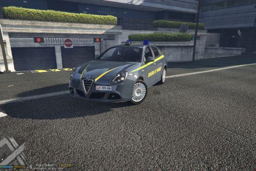 Alfa Romeo Giulietta Guardia di Finanza
