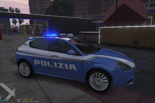 Alfa Romeo Giulietta Polizia di Stato - Squadra Volante