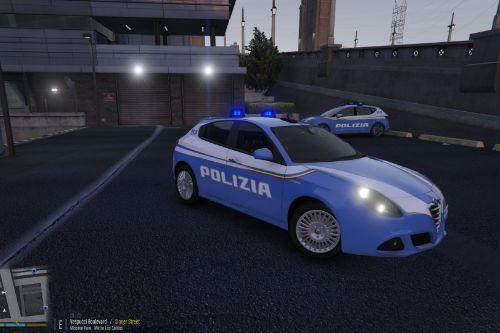 Alfa Romeo Giulietta Polizia di Stato