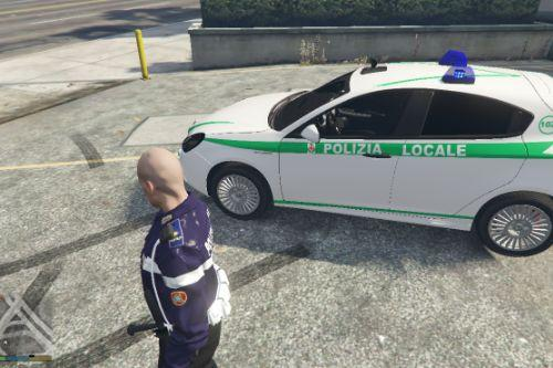 Alfa Romeo Giulietta  Polizia Locale Lombardia [ELS]