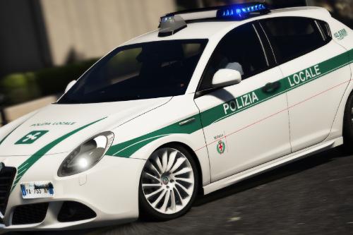 Alfa Romeo Giulietta - Polizia Locale Milano