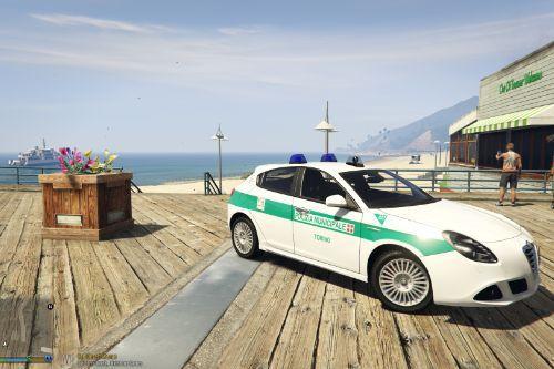 Alfa Romeo Giulietta Polizia Municipale Torino