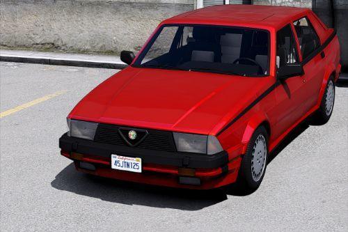 Alfa Romeo Milano Verde 1992 [Add-On | Tuning | Template]