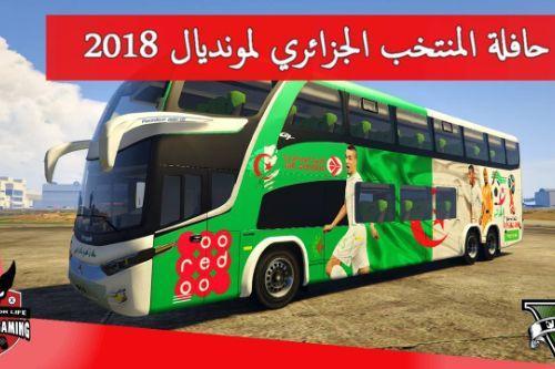 Algeria FIFA World Cup Russia 2018 Bus