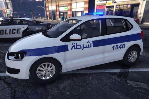 Algeria Police - Volkswagen Polo