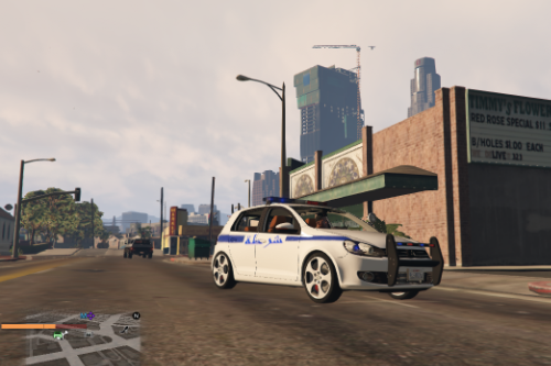 Algeria Police Volkswagen