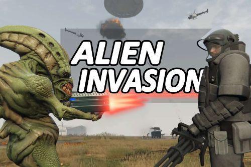 Alien Invasion War