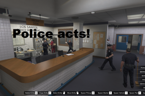 Alive Police Station! *Beta version* [Map Editor]