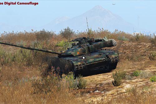 Type-99 MBT [Alkhalid 2] [Add-On] 99式 中国
