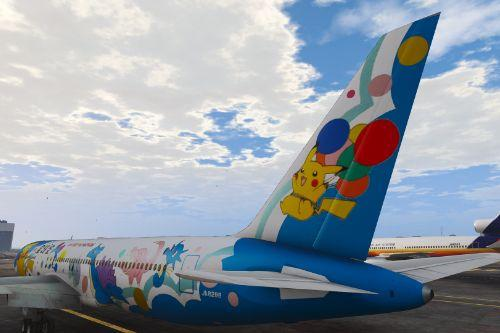 All Nippon Airways Pocket Monsters (Pokémon) Livery Boeing 767-300