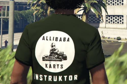 Allibaba Karts T-shirt