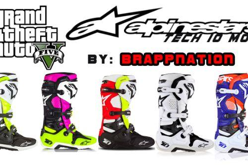 Alpinestars Tech 10 Boots for Freemode Male