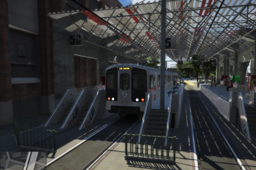 AltaSt Metro Station  [MapEditor][TRAM STOP ON STATION]