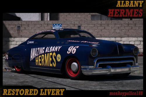 Amazing Albany Hermes - Clean Livery + Bonus Sheriff Livery