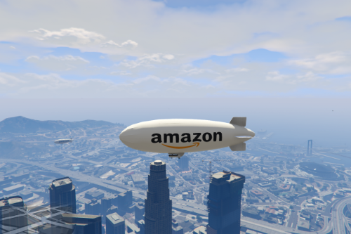 Amazon blimp skin