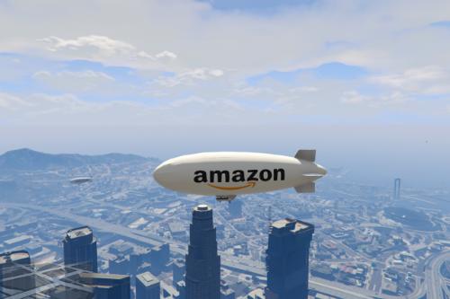 Amazon blimp skin