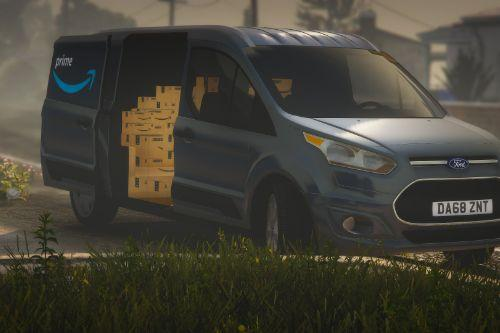 Amazon Ford Connect Van [Replace | Template]