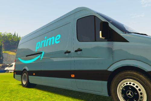 Amazon Prime UK Delivery Van Skin