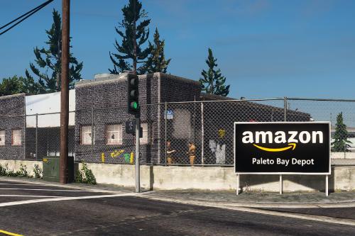 Amazon Warehouse Paleto Bay Retexture