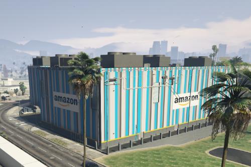 Amazon Warehouse Retexture [SP & FiveM Ready]