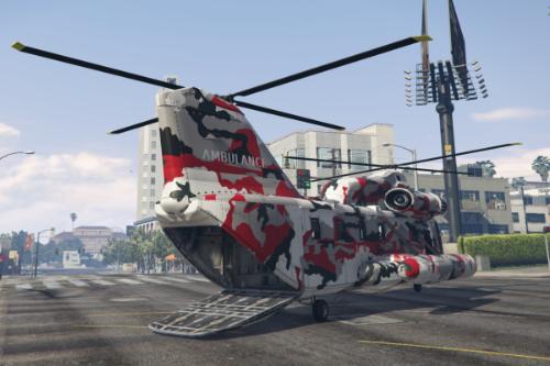 Ambulance Cargobob [Replace | FiveM]