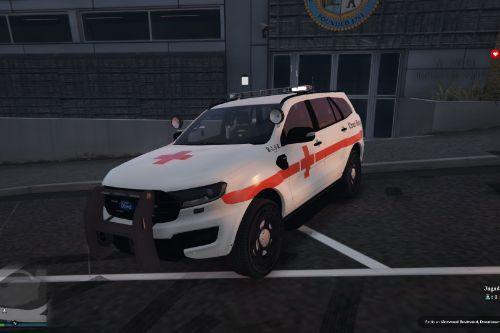 Ambulance Ford Everest Cruz Roja Española of Spain/España