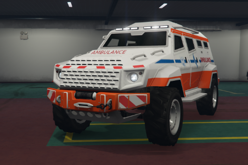 Ambulance Insurgent [Replace / FiveM]