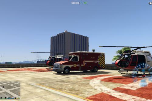 Ambulance Marocaine Fictive