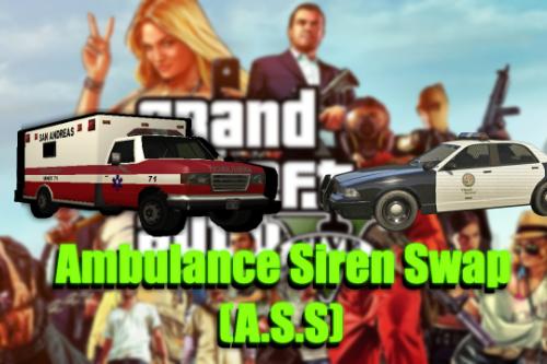 Ambulance Sirens Swap [OIV]