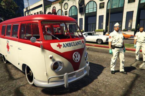 Volkswagen 1960s Ambulance/Paramedics