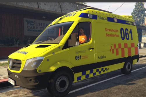 Ambulancia Mercedes-Benz Sprinter 061 Galicia