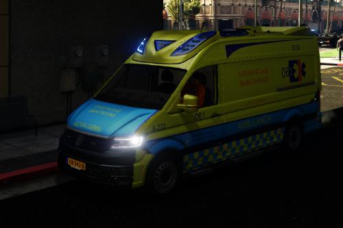 Ambulancia Nueva 061 Galicia