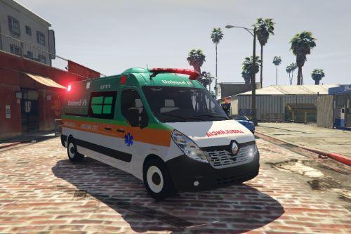 Ambulância Renault Master Unimed | BR Brasil