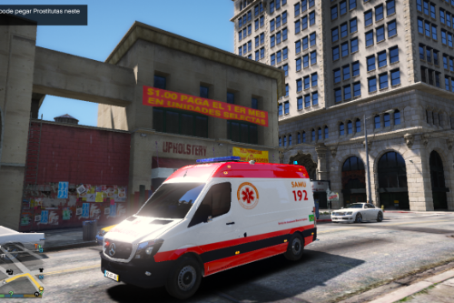 AMBULÂNCIA SAMU Livery for 192 SPRINTER