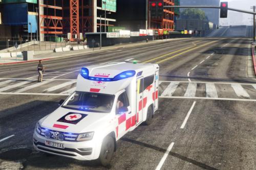 ambulanza 118 croce rossa