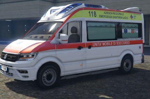 Ambulanza ARES 118 - Volkswagen Crafter