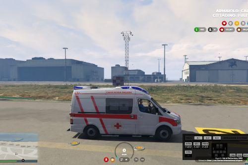 Ambulanza, Croce Rossa Italiana   Reskin
