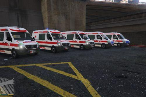 Ambulanze Croce Rossa Italiana Skin Paintjob Pack