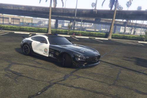 AMG GT R 2017 Police [Paintjob]