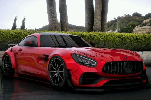 Mercedes-Benz AMG GT + R V2 [Add-On | Extras | Wheels | Tuning | LODs]