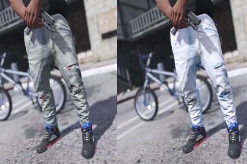 Amiri Sagged Jeans 2-Pack