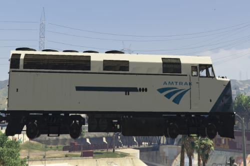 Amtrak CA liveries for Overhauled Trains mod