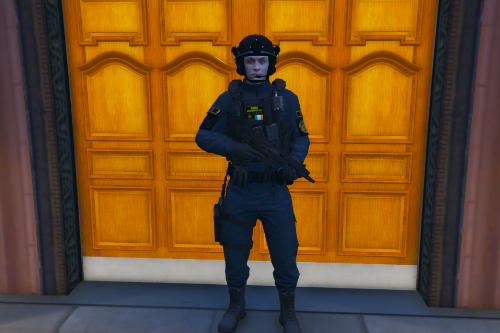 An Garda Síochána ASU Vest