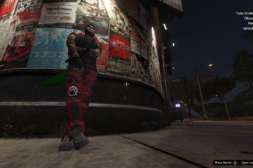 Anarchy Punk Pants for Male MP Character