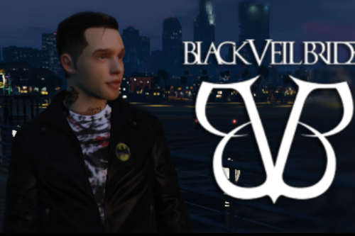Andy Biersack From Black Veil Brides (Add On Ped)