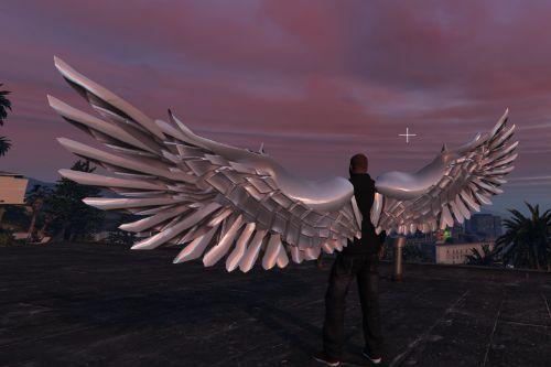 Angel Wings Retexture - Realistic Wings - METAL