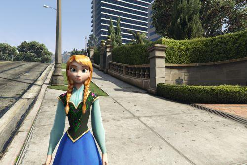 Anna of Arendelle (Frozen) [Add-On Ped]